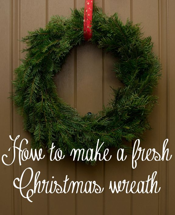 Pictorial: How to Make a Live Christmas Wreath