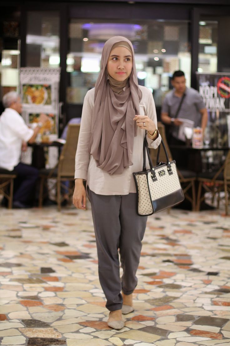 saturday: Style Inspiration : Simply Brown | Hijab Fashion ...