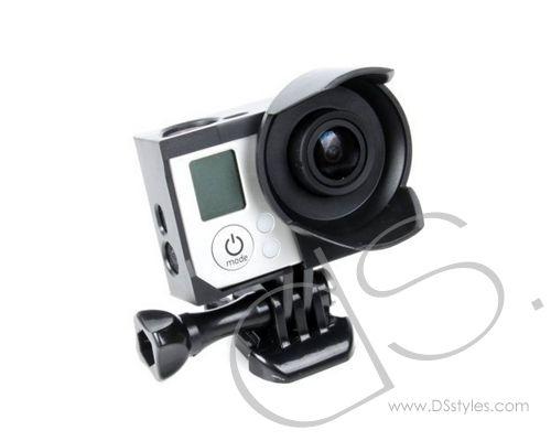 GoPro Lens Hood Housing Frame Mount for Hero 3 Hero 3  Camera - Black              http://www.dsstyles.com/product/gopro-lens-hood-housing-frame-mount-for-hero-3-hero-3-camera---black