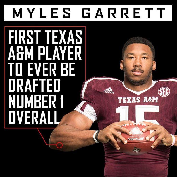 Myles Garrett makes history for the Aggies.