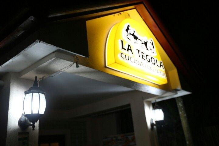 필리핀 세부 LA TEGOLA 피자집