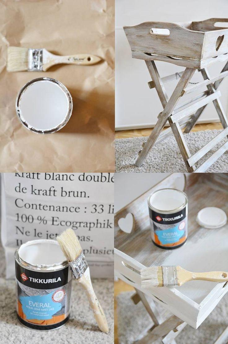 PAINTING. DIY. & PLANS FOR THE WEEKEND. – SCRAPERKA  produkty: Tikkurila Everal