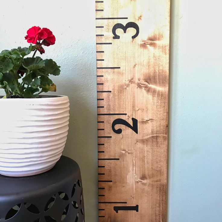 Light Brown Growth Chart | Growth Chart Ruler | Height Chart | Wooden Growth Chart | Farmhouse Ruler | Family Growth Chart | Nursery Chart by H2GDesigns on Etsy https://www.etsy.com/listing/505398072/light-brown-growth-chart-growth-chart