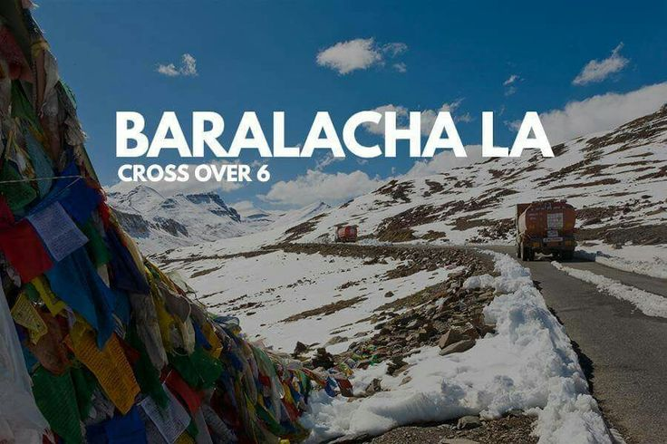 Bara-lacha la also known as Bara-lacha Pass, or Bārā Lācha La, is a high mountain pass in Zanskar range, connecting Lahaul district in Himachal Pradesh to Ladakh in Jammu and Kashmir, situated along the Leh–Manali Highway.
