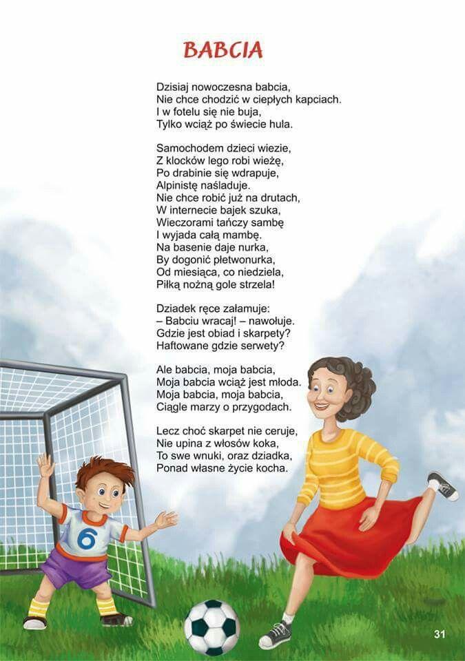 Babcia - wiersz