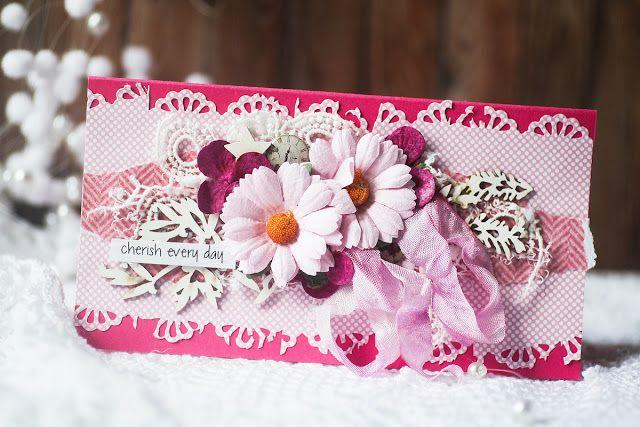 Scrap Kit Club Скрапбукинг идеи, мастер классы: Денежные конверты в стиле рустик/приглашенный дизайнер Вера Шелемех