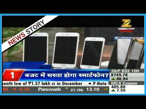 Smart phones will become cheaper in union budget Smart phones will become cheaper in union budget. Watch this special segment and get to know more here. Zee Business is one of the leading and fastest growing Hindi business news channels in India. The channel has revolutionized business news by its innovative programming and path-breaking strategy of making business news a 24/7 activity as it is not just limited to the stock market. This has made Zee Business your channel to wealth and…