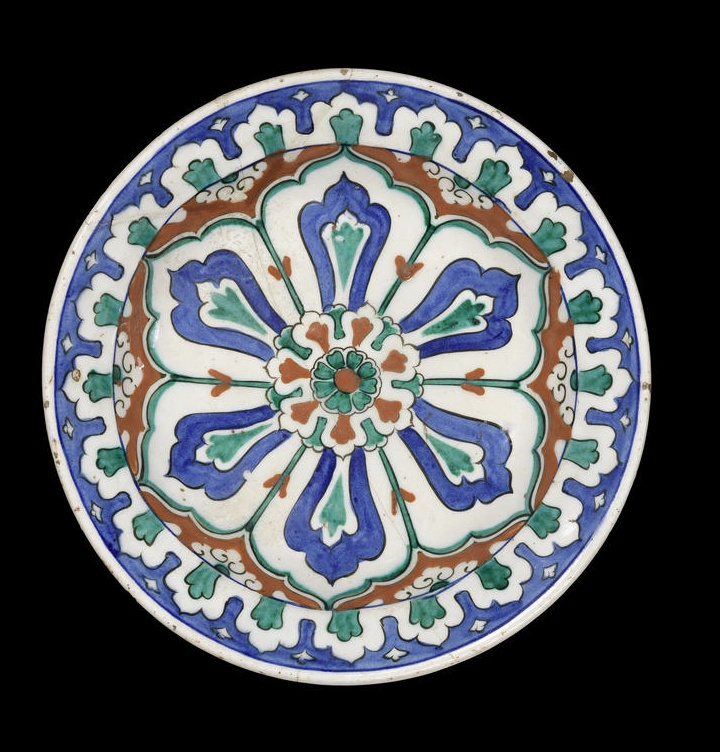 An Iznik polychrome pottery Dish Turkey, circa 1580
