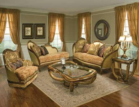 Great Italian Hardwood Solids Living Room Set Review