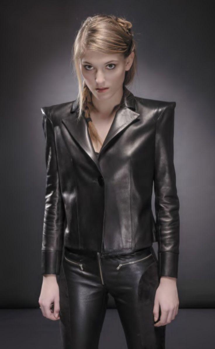Soyez toute de cuir vêtue avec les créations de Pascal Piveteau
