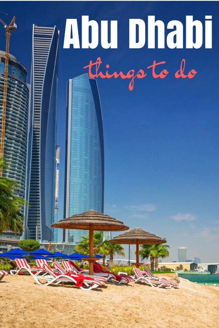 A complete guide to Abu Dhabi including