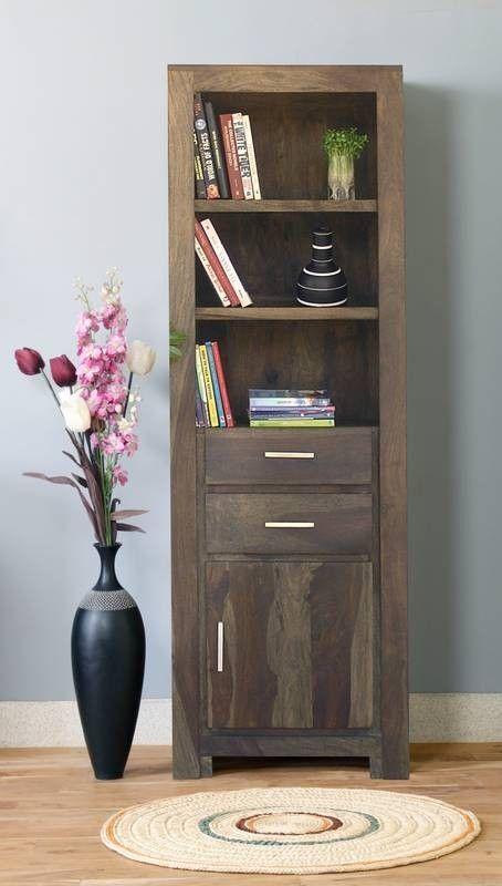 Luxury Sheesham Holz massiv Regal Palisander M bel METRO POLIS Jetzt bestellen unter https