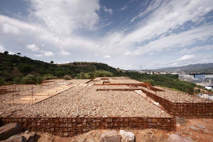 Adequation of the archeological natural site of Can Tacó (s. II a.C.), Montmeló - Montornès del Vallès, studio Toni Gironés Saderra