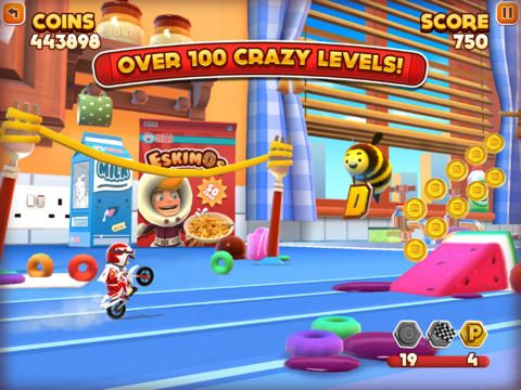 Joe Danger Infinity // Sequel to Joe Danger. More of the same. The IAP prompts are well annoying.