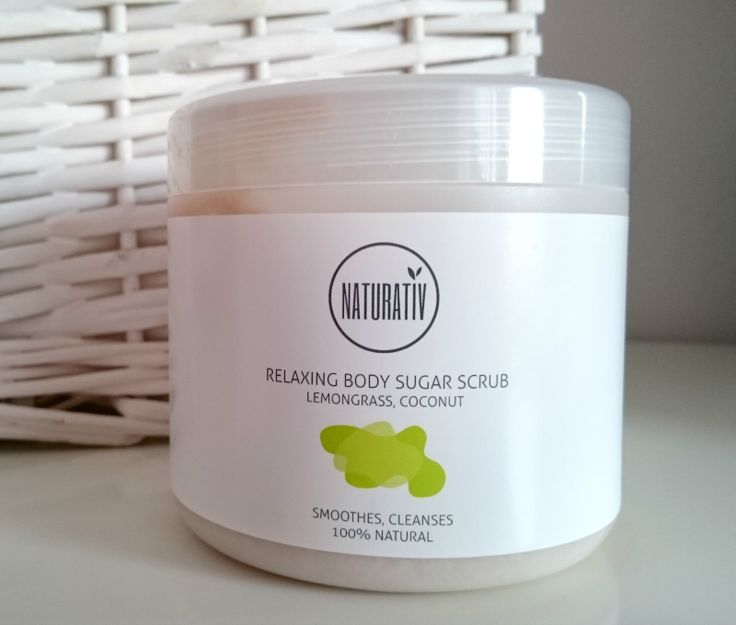 #Naturativ #Relaxing #Sugar #Bodyscrub #cosmetic #ecofriendly #bodycare