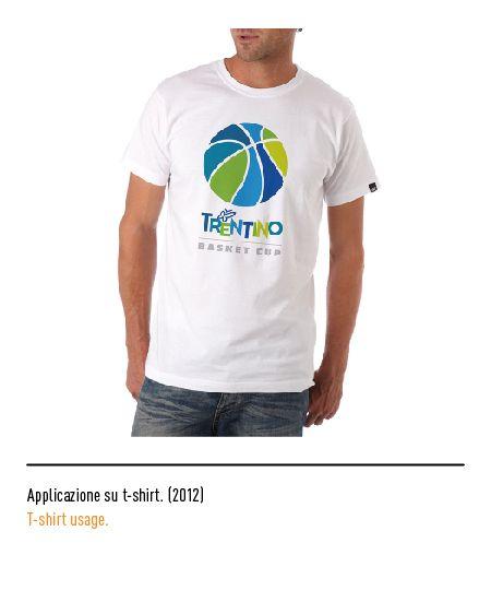 Marchio Trentino - Applicazione su t-shirt 2012