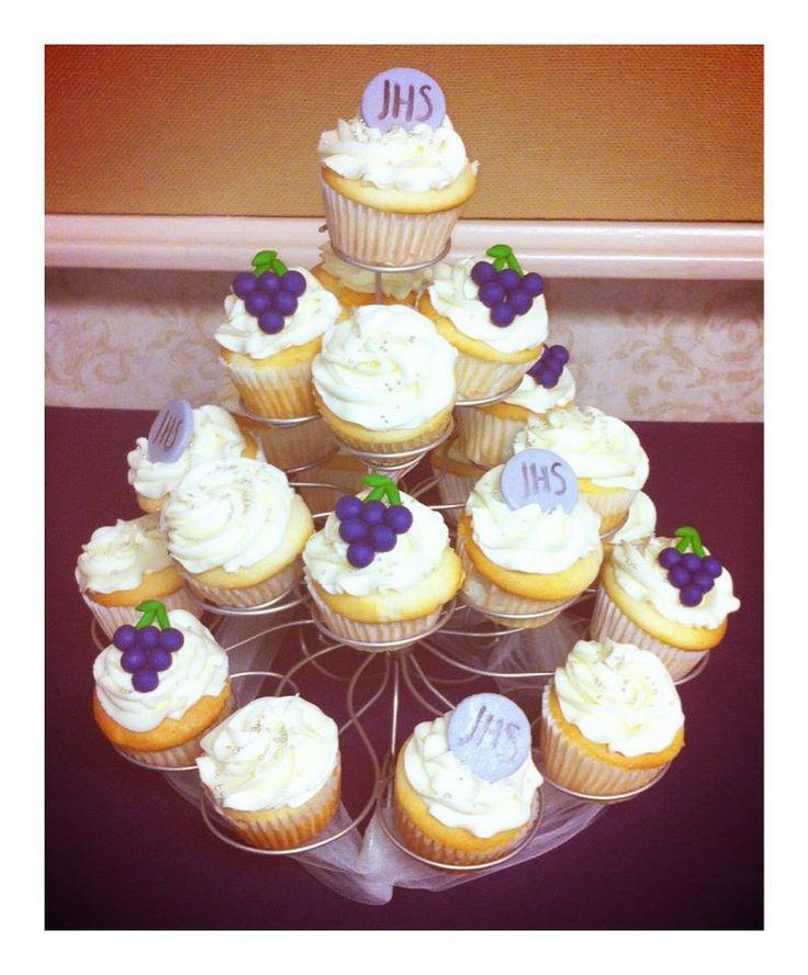 cupcake primera comunion