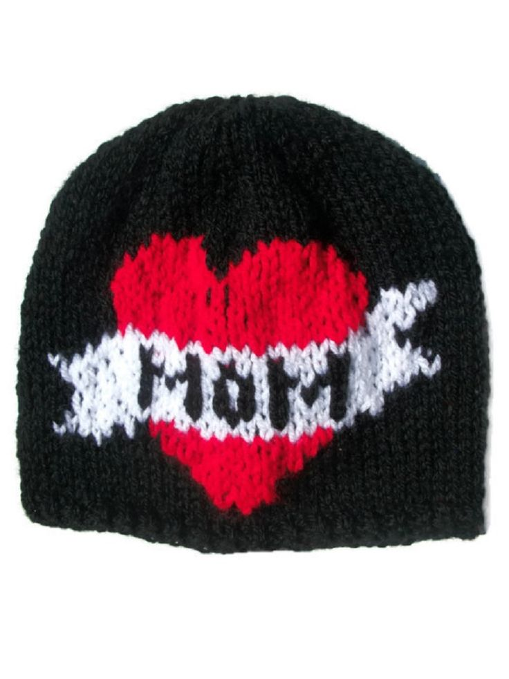 Tattoo Hat All Sizes Hand Knitted, £9.99