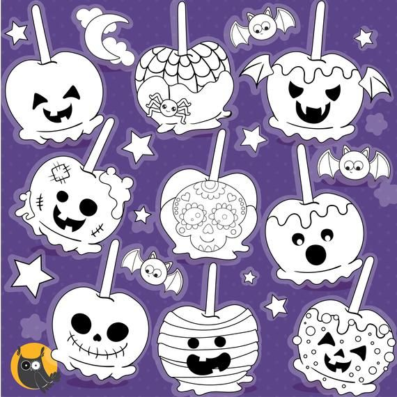 Commercial For Halloween Candy 2020 BUY 20 GET 10 OFF  Halloween Candy Apple digital stamp commercial