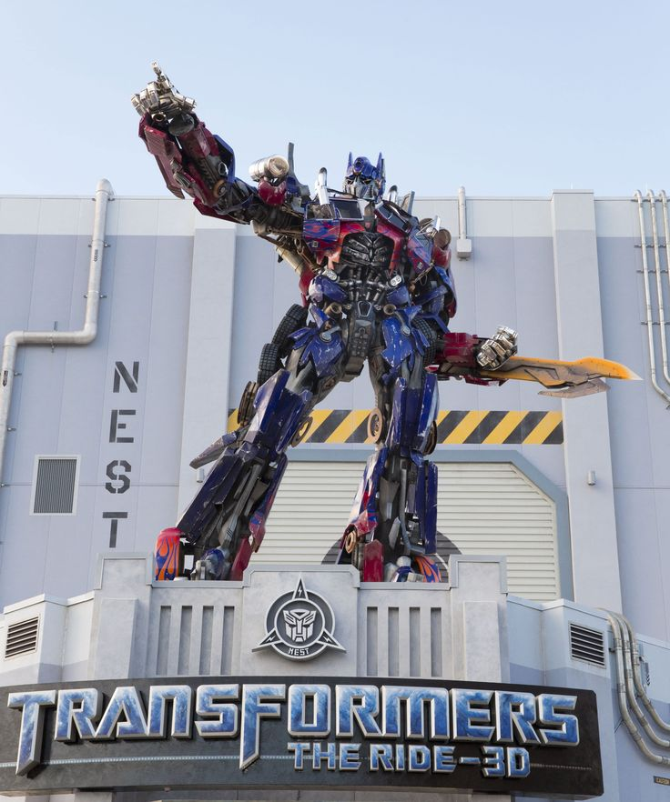 universal studios orlando rides   Transformers: The Ride 3D Universal Orlando - Megatron Takes Orlando