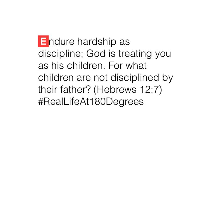 #RealLifeAt180Degrees On fathering, nothing can be more straight forward. Discipline is good.