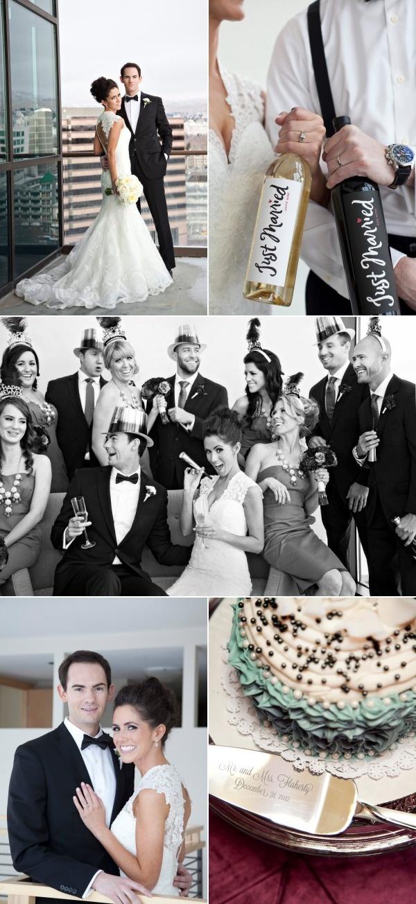 Boise New Year's Eve Wedding