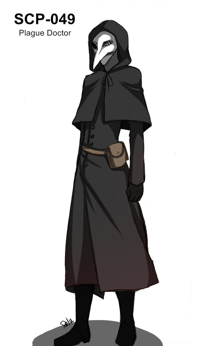 SCP-049 Plague Doctor by DeluCat on deviantART