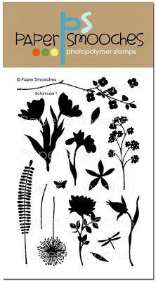 Paper Smooches: JAN stamps - Botanicals 1