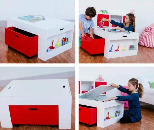 Aufbewahrung kinderzimmer einrichtung stauraum spiel - Aufbewahrung kinderzimmer ...