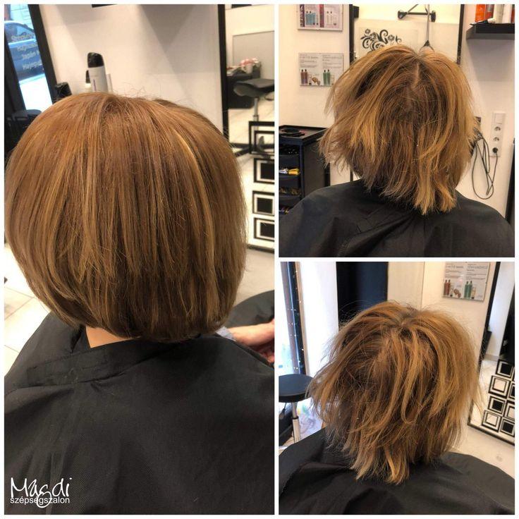 Kezdjük a hetet egy rövid bob frizurával, festve és igazítva :)  www.magdiszepsegszalon.hu  #hairstyle #hair #hairfasion #bobhair #haj #széphaj #bobhaircut #bobhaj #festettbob ️#hairstyle #hair #hairfasion #haj #festetthaj #coloredhair #széphaj #szépségszalon #beautysalon #fodrász #hairdresser #ilovemyhair #ilovemyjob❤️ #haircut #cut