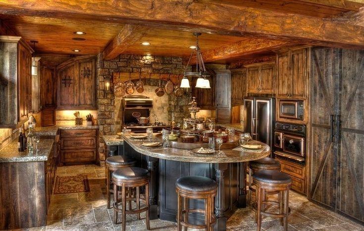 Деревенский дом на берегу озера - Дизайн интерьеров | Идеи вашего дома | Lodgers