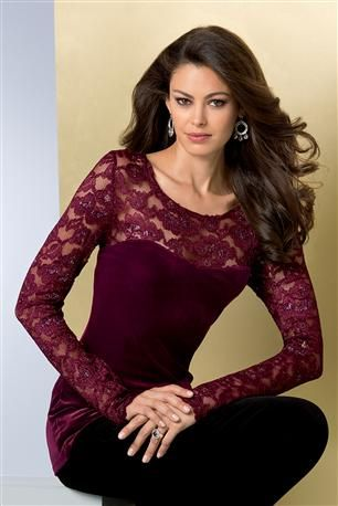 Velvet-And-Lace-Illusion-Top
