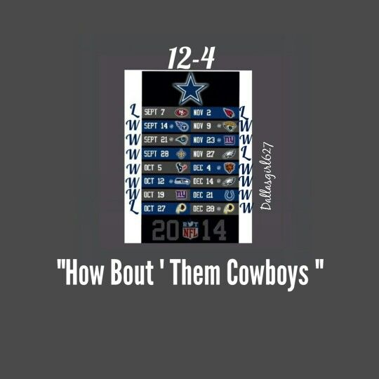 """How Bout' Them Cowboys"""