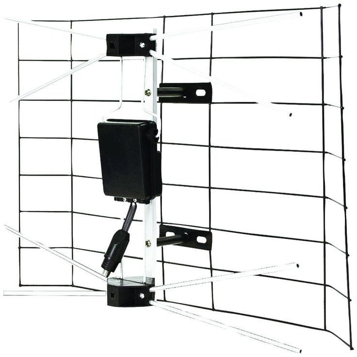 FOXSMART 10210 Simple Outdoor HDTV Antenna