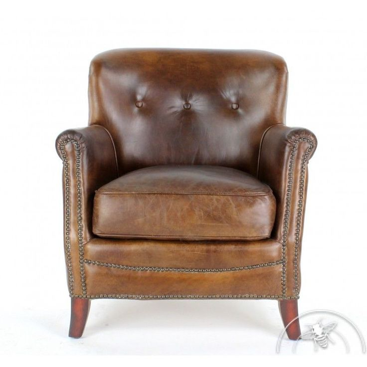 17 meilleures id es propos de fauteuil club cuir sur - Fauteuil club marron ...