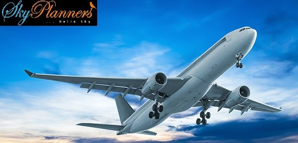 Flights Tickets Booking in India from sky planners. They provide low fare flight offers and gives zero cancellation & free meals on domestic flight tickets booking. So book your #flight with us. Hurry!! Offer Limited.