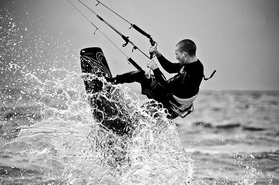 Kitesurfing Denmark  © bent andreassen