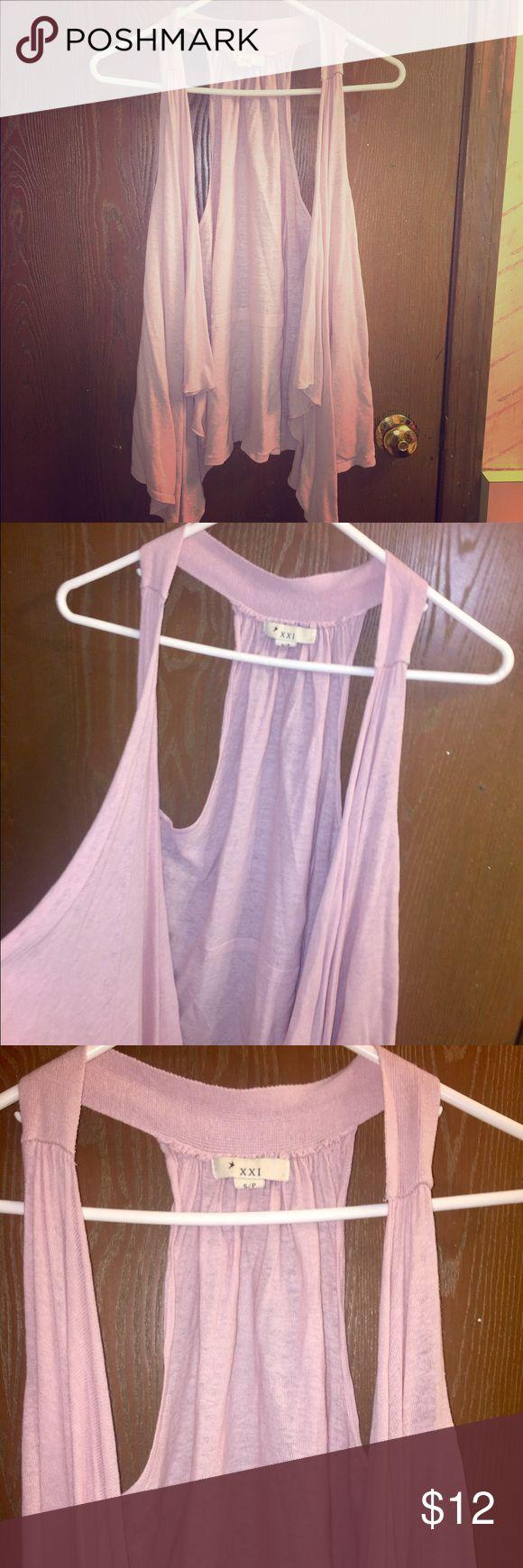 Pink vest Pink light vest! 💓 XXI Tops Tank Tops