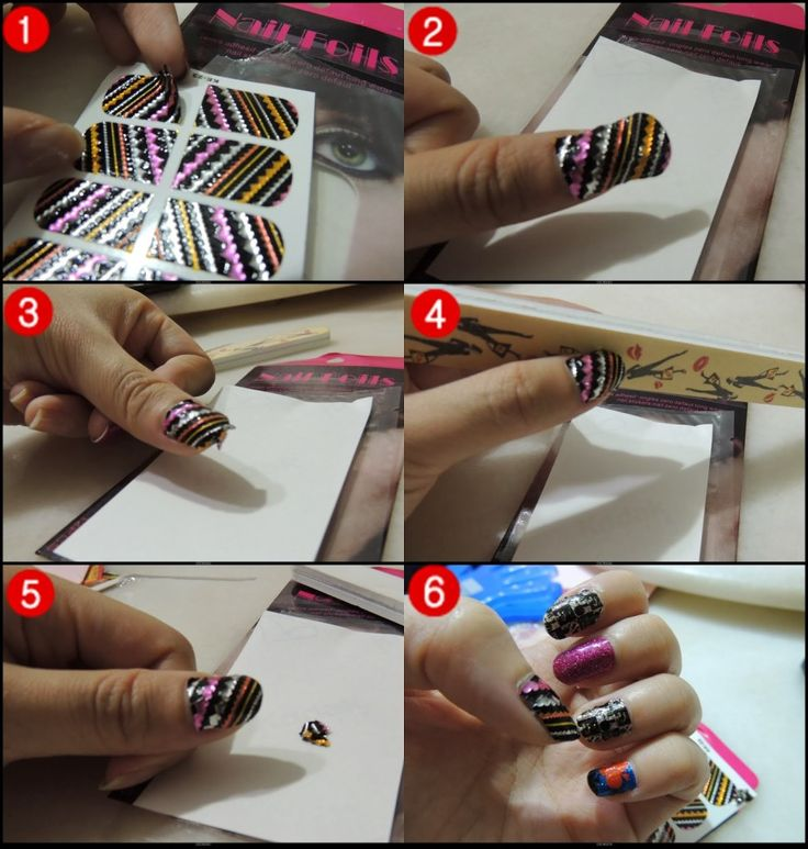 cute  Gorgeous Apply Nail Decals