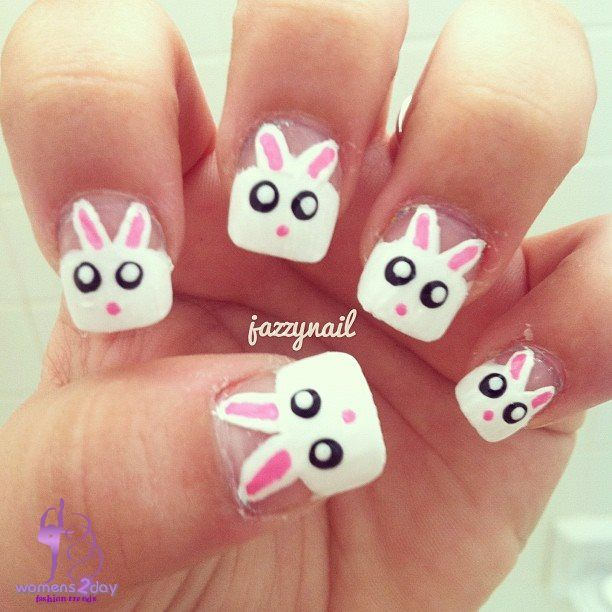 Animal Nail Art: 105 Best Animal Nail Art Images On Pinterest