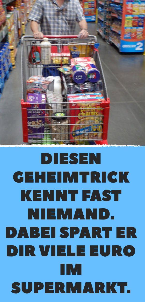 Diesen Geheimtrick kennt fast niemand. Dabei spart er dir viele Euro im Supermarkt. – anne