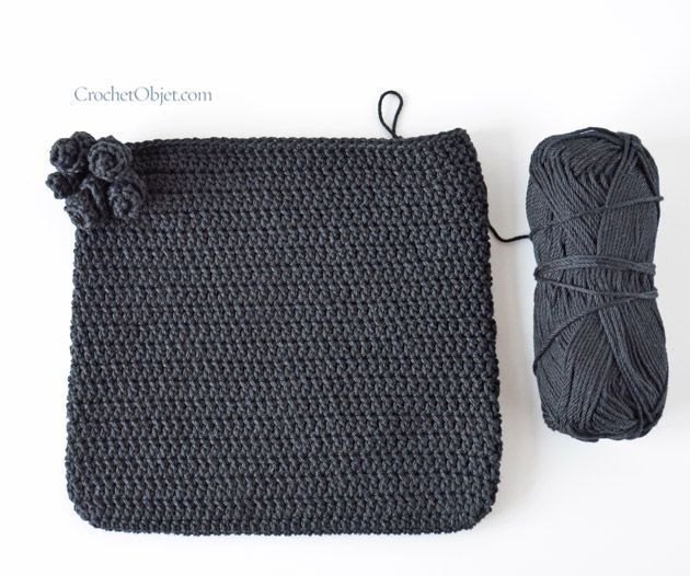 Black Jet Bag – How To – CrochetObjet by MoMalron
