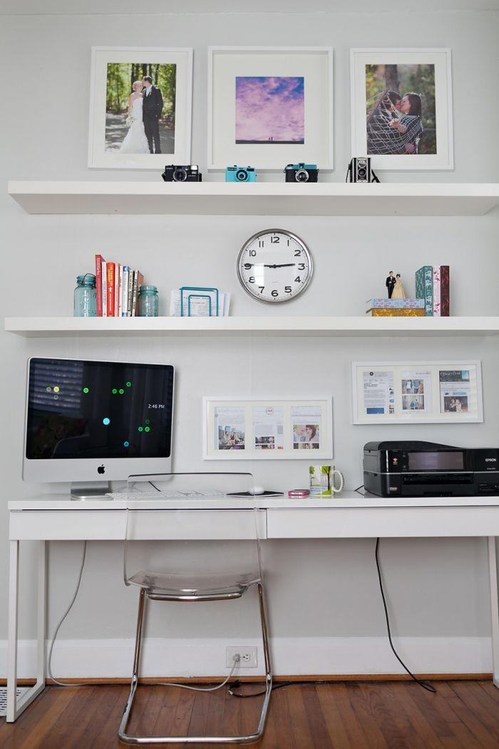 vintage modern home office
