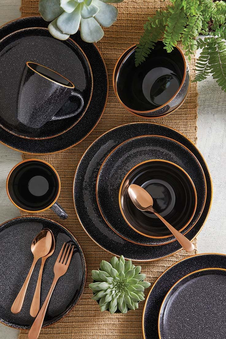 Better Homes And Gardens Black Silverware