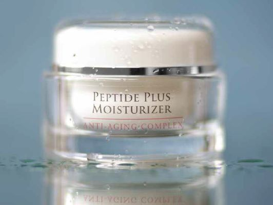 """Can't believe that ALL my favourite ingredients are in one jar!  And because I tend to break out! it's oil free too.  Nucerity delivers!  Peptides, along with Shea butter, aloe, vitamin E, and hyaluronic acid help create this intense hydrating complex.  No parabens!  I was wondering why all those people I know have been looking like they had """"work"""" done.  But no.  Just Peptide Plus!"""