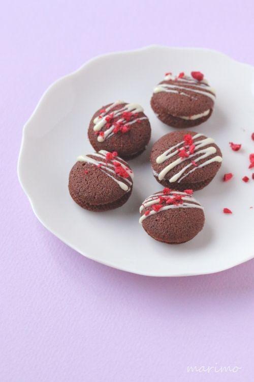 ★レシピ★ チョコとフランボワーズのクッキー : marimo cafe