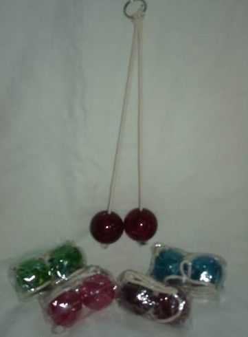 Retro Clacker Toy  Clackers  1960's 1970's by hekele on Etsy - yes these were   dangerous and could Tshatter causing eye damage.  I did have one that cracked and Mom made me throw it away.  (Bev)