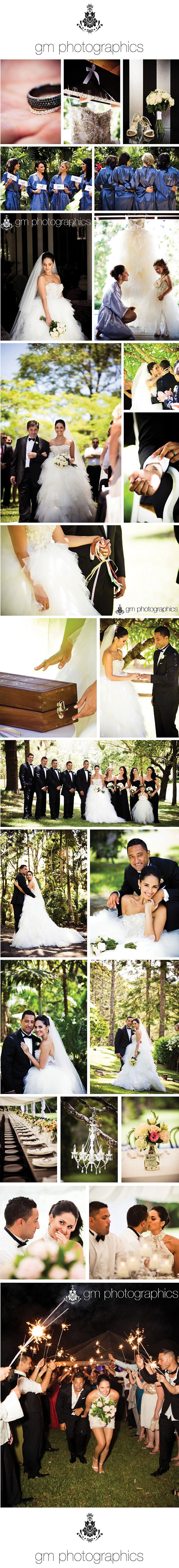 Zoe & Benji, wedding conducted on 5 Jan 2013 by Chiquita Mitchell.  Photography by GM Photographics.
