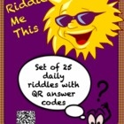 Use these daily riddles to intrigue your students before they even come into the classroom! Post one on the bulletin board for an early morning bra...