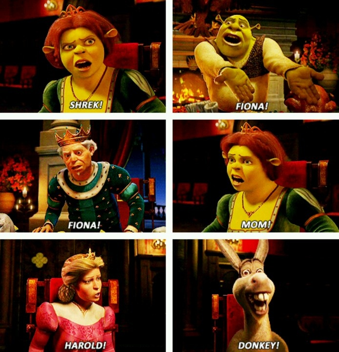 17 best images about donkey shrek funny on pinterest the - American history x dinner table scene ...